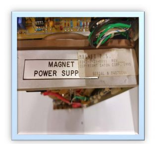 Magnet Power Supply + Two Spare Capacitors