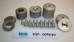 Heat Sink Inserts, Clamps/Thrust washer and Bolts 200mm